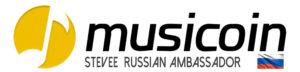 STEVEE Musicoin Russian Ambassador