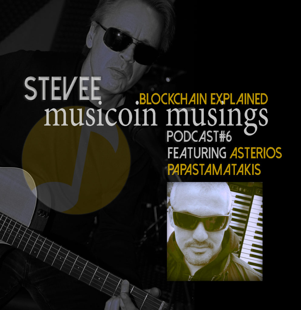 Musicoin Musings#6 Podcast by STEVEE