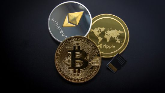 https://www.pexels.com/photo/ripple-etehereum-and-bitcoin-and-micro-sdhc-card-844124/