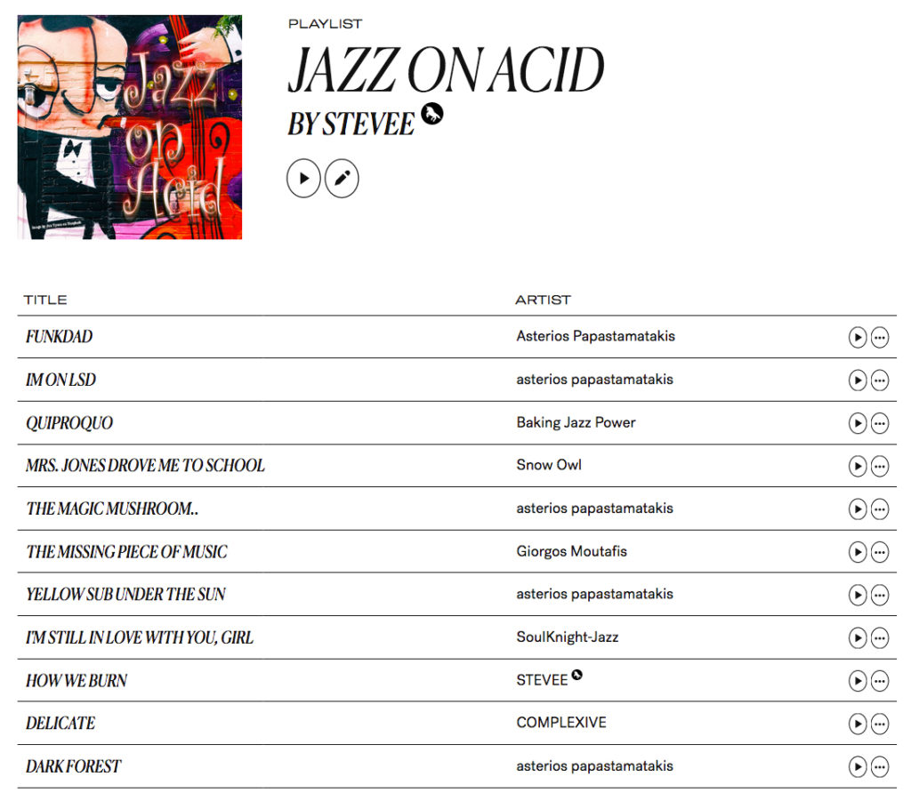 Jazz on Acid