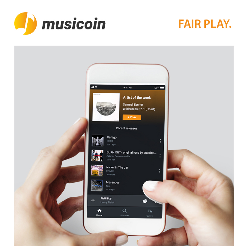 MUSICOIN Mobile(MM) UPGRADED TO VERSION 2.0